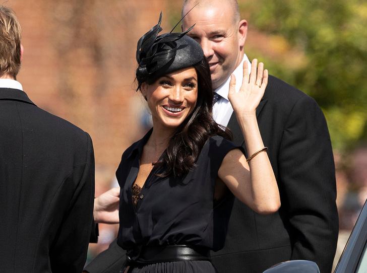 Фото №1 - Меган Маркл и принц Гарри на свадьбе друзей