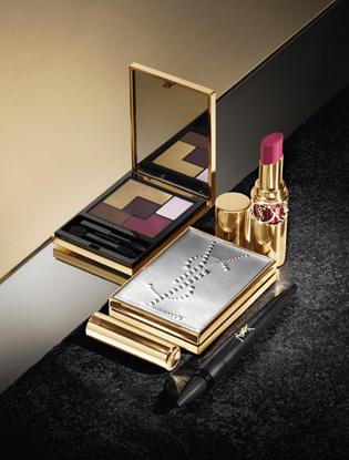 Фото №6 - Притяжение металла: новая коллекция макияжа Yves Saint Laurent