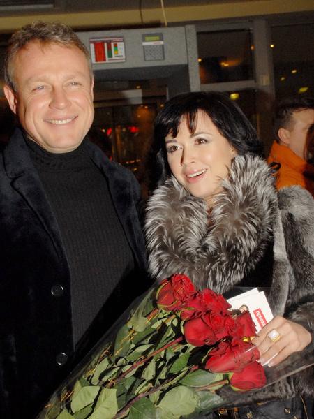 Анастасия с Сергеем Жигуновым.
