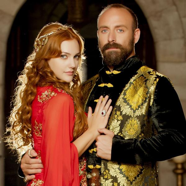 актрисы сериала «Великолепный век»