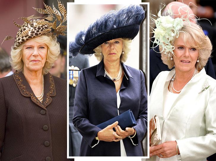 Фото №1 - Герцогиня Эпатаж: самые невероятные шляпы Камиллы