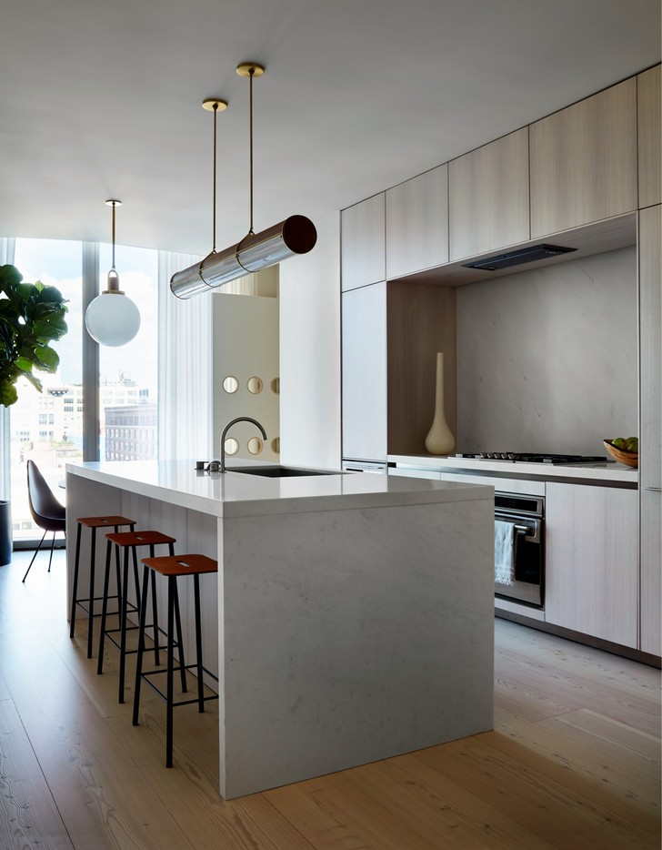 Фото №9 - Дизайнерские апартаменты с видом на Гудзон
