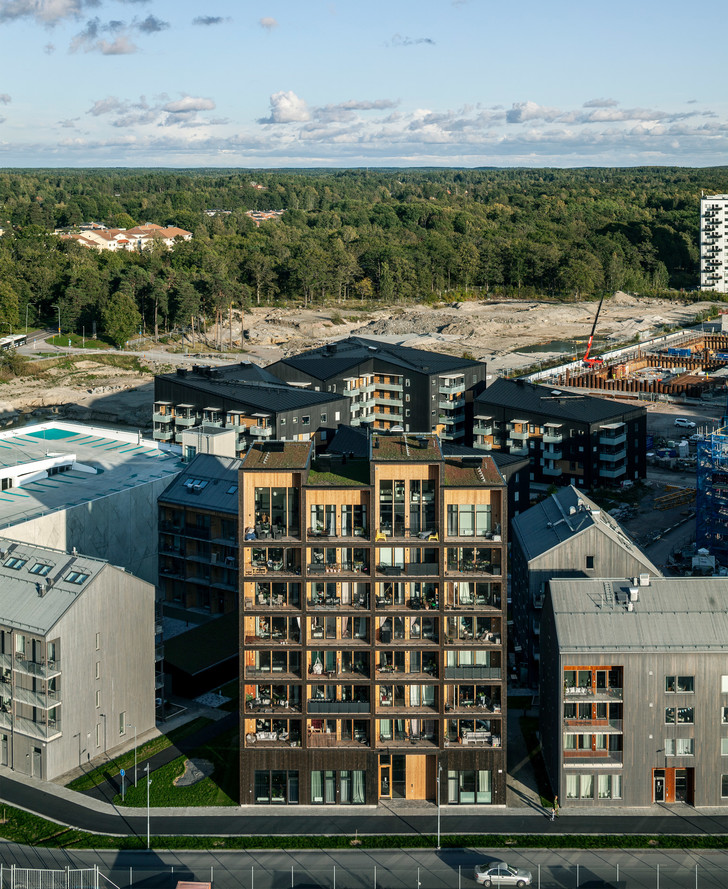 Фото №7 - В Швеции построили полностью деревянную восьмиэтажку (фото)