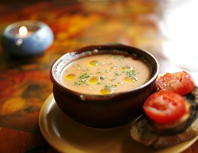 Испанский суп Сальморехо