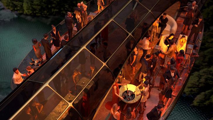 Фото №3 - Дворец на рельсах: стеклянный поезд по проекту дизайнера яхт