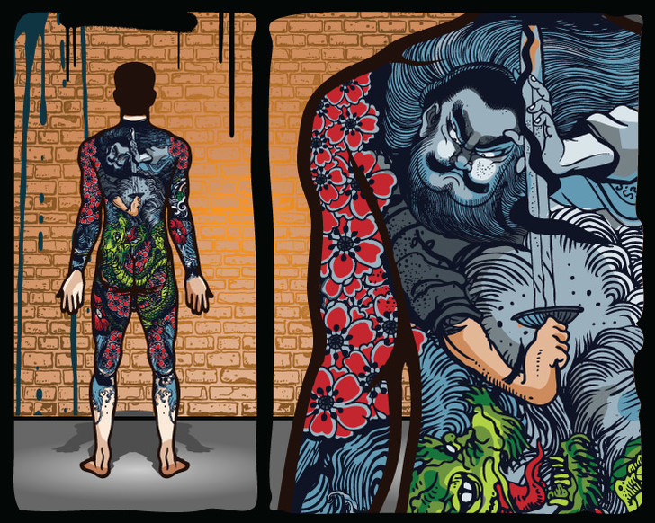 shutterstockКультура разрисовки тела имеет очень глубокие исторические корни. В Японии, например, искусство татуировки, называемое ирэдзуми (инъекции тушью), судя по найденным во время археологических раскопок статуэткам, изображающим людей с узорами на коже, существовало еще в V веке до н.э.