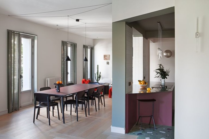 Фото №2 - Современная квартира в доме 1930-х годов в Мадриде