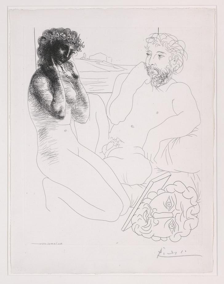 Фото №4 - Работы Пикассо, Шагала и Церетели на выставке в Москве