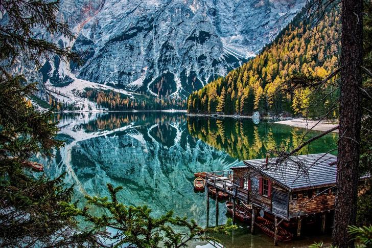 Фото №1 - Озеро в Альпах
