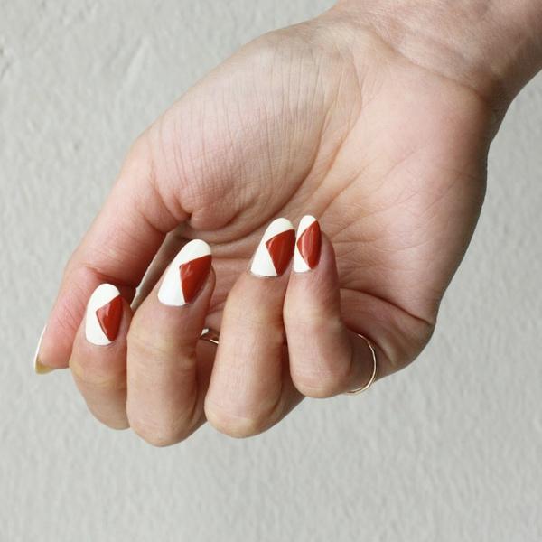 Фото №4 - Вишневый маникюр: осенний тренд, который подходит для ногтей любой длины