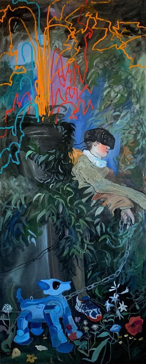 Фото №1 - Главное арт-событие зимы: выставка-театр «Невинные шалости. Технорококо»