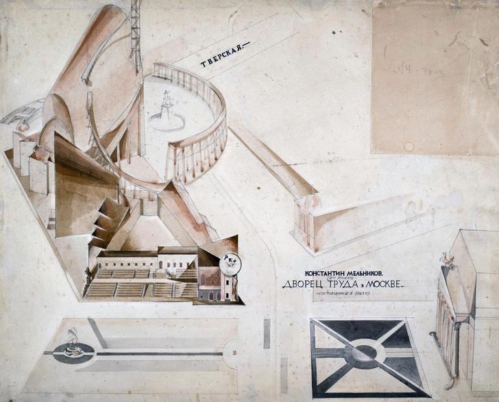 Фото №2 - Выставка «ВХУТЕМАС–100. Иллюминаторы завтрашних городов» в МУАРе