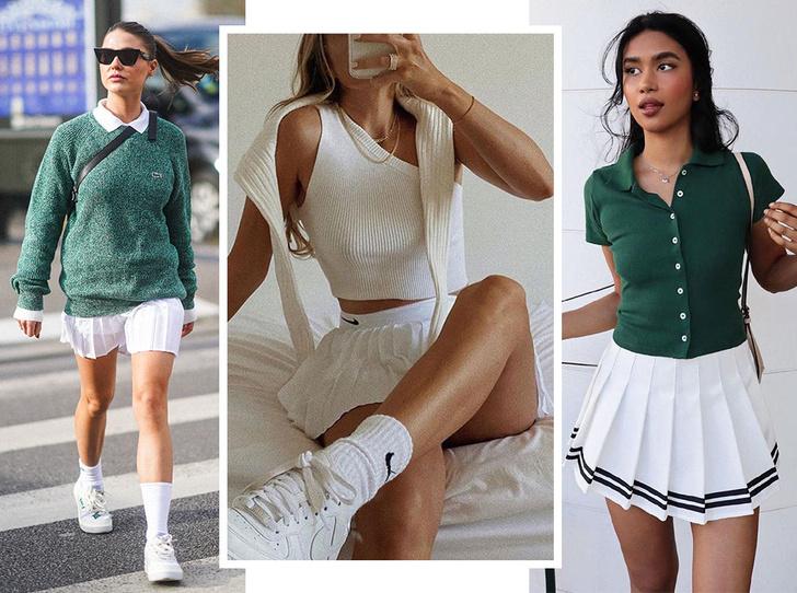 Фото №1 - С чем носить теннисную юбку: 5 идей для любого случая