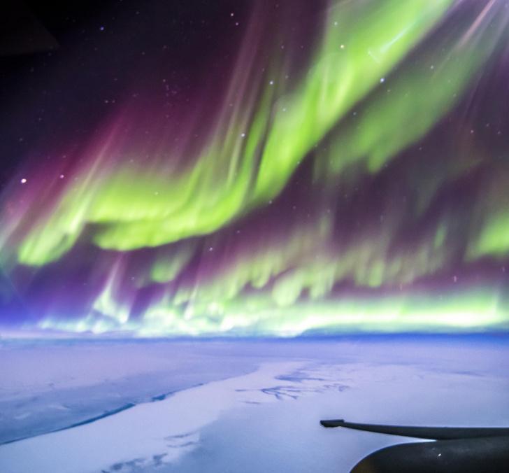 Фото №1 - Под крылом самолета