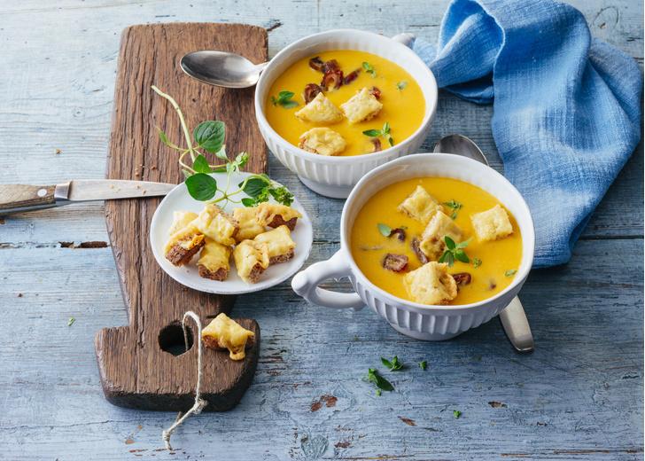 Крем-суп из тыквы, как приготовить вкусно и быстро