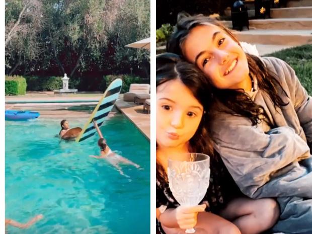 Фото №3 - Самая красивая русалка в Лос-Анджелесе: Алессандра Амбросио показала, что значит отдыхать красиво