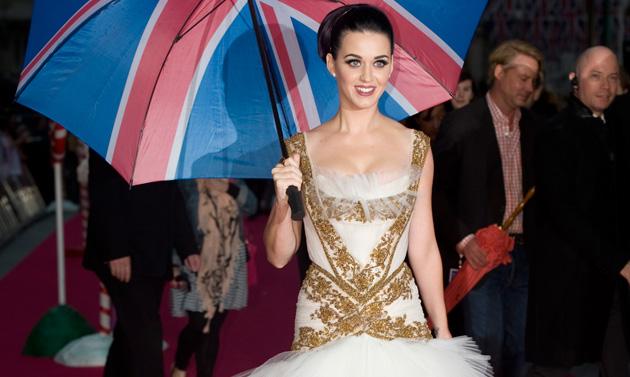 Фото №1 - Розовое облако: Кэти Перри на лондонской премьере своего фильма