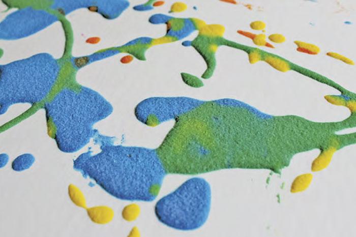 Фото №2 - Рисование с помощью соли: пышная краска и соленая акварель