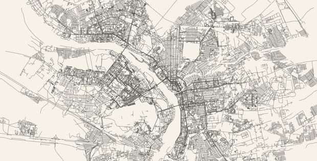 Фото №3 - Сайт дня: преврати свой город в карту, на которой будут только дороги