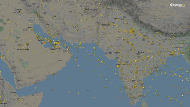 Фото №8 - Как изменился авиатрафик в разных регионах мира во время пандемии