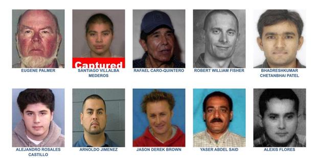 Фото №1 - Их разыскивает полиция. Как появился и как работает список «10 самых опасных преступников»