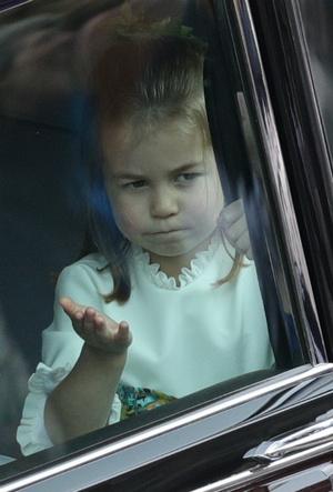 Фото №7 - На кого все больше становится похожа принцесса Шарлотта (это вовсе не Елизавета II)