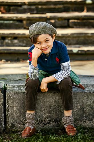 Фото №13 - В школу в поло: детский лукбук осенней коллекции Polo Ralph Lauren