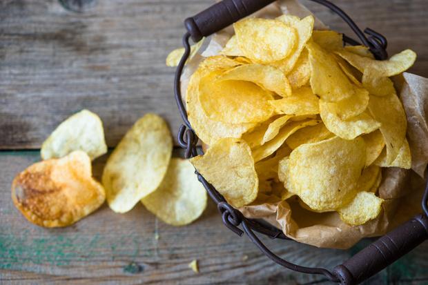 чипсы в духовке: рецепт