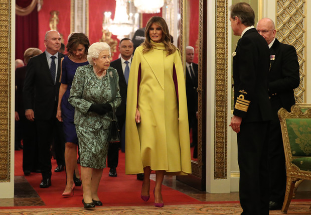Фото №3 - Кто ярче: Мелания, Кейт и Камилла в эффектных нарядах на саммите НАТО в Лондоне