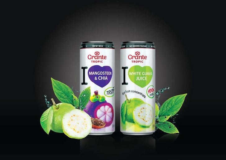 Фото №4 - Grante выпустил линейку экзотических 100% соков Tropic для всех, кто мечтал о кокосовом молоке и воде из тропиков!