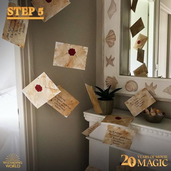 Фото №7 - DIY: как сделать себе письмо из Хогвартса 🦉