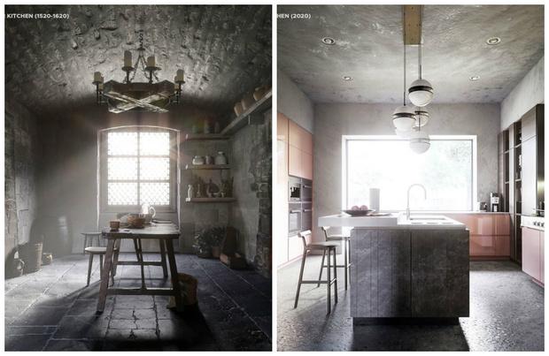 Фото №1 - Как изменилась кухня за последние 500 лет: вся правда в одном видео