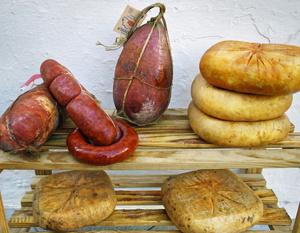 домашняя колбаса с сыром