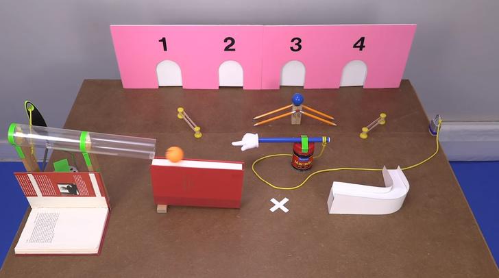 Фото №1 - Догадайся в какую дверцу закатится шар: 6 изощренных видеоголоволомок