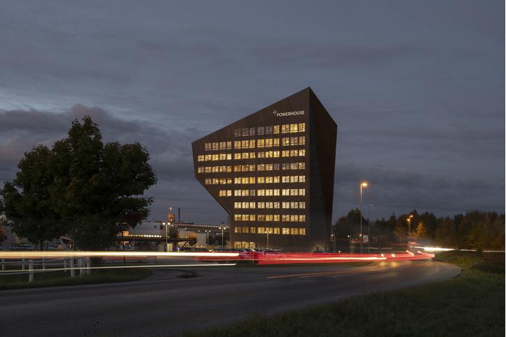Фото №1 - Энергопозитивный офис по проекту Snøhetta в Норвегии