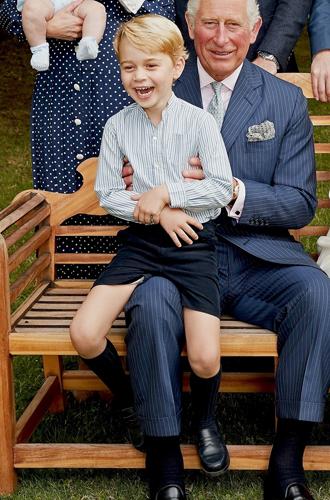 Фото №10 - Что рассказал о Кембриджских, Сассекских и Уэльских их семейный портрет