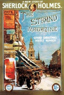 Лондонский журнал «Стрэнд» с 1891 года периодически печатал истории о Холмсе, снабженные знаменитыми иллюстрациями Сиднея Паже