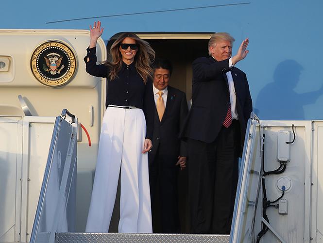 Фото №28 - Мелания Трамп: новые стандарты стиля Первой леди