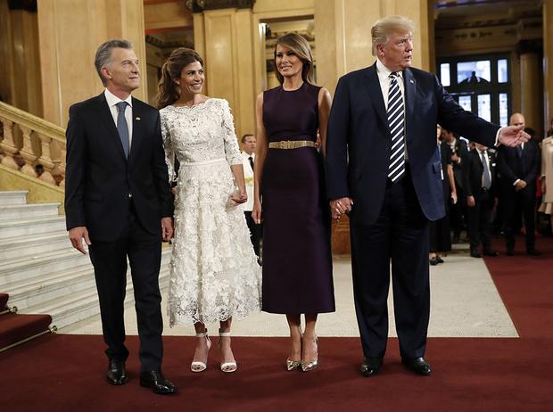 Фото №10 - G20 в Аргентине: самые яркие модные выходы Первых леди