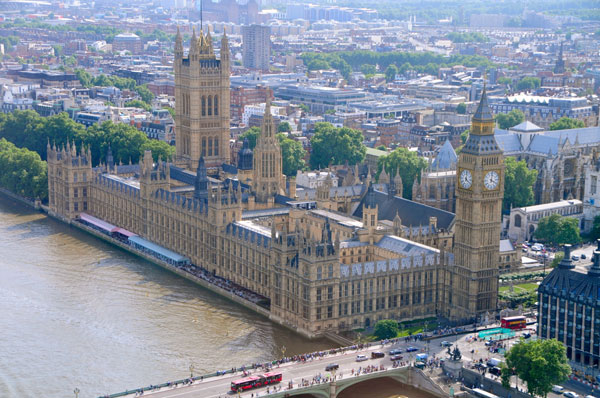 Фото №1 - Дворец парламента Великобритании в деталях