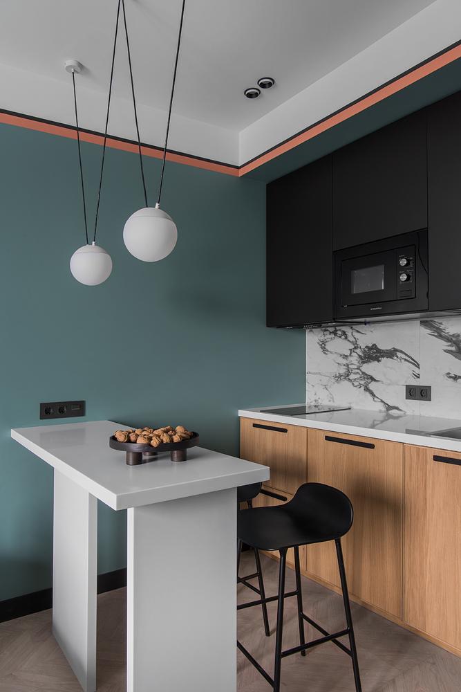 Фото №3 - Идеи для маленьких кухонь: изучаем проекты дизайнеров