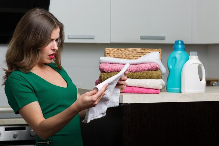 Фото №1 - Как избежать появления пятен на полотенцах: отвечают подписчицы Woman.ru
