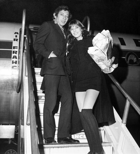 Джейн биркин и Серж Гинзбург, 1969 год