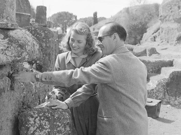 Фото №12 - Итальянские страсти: «аморальный» роман Ингрид Бергман и Роберто Росселлини