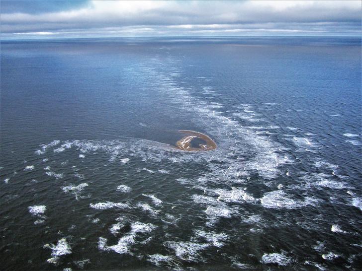 Фото №3 - Каньоны под толщей льда, оттаявшие острова и другие географические открытия XXI века