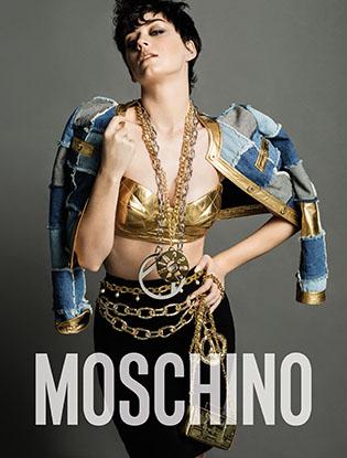 Фото №1 - Кэти Перри стала лицом рекламной кампании Moschino