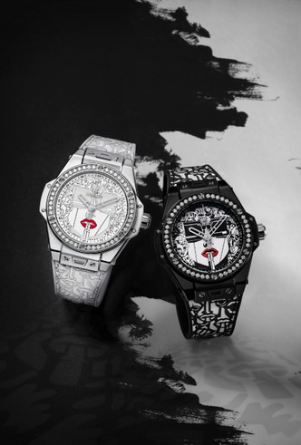 Фото №4 - Черное и белое: Hublot представили новинку Big Bang One Click Marc Ferrero