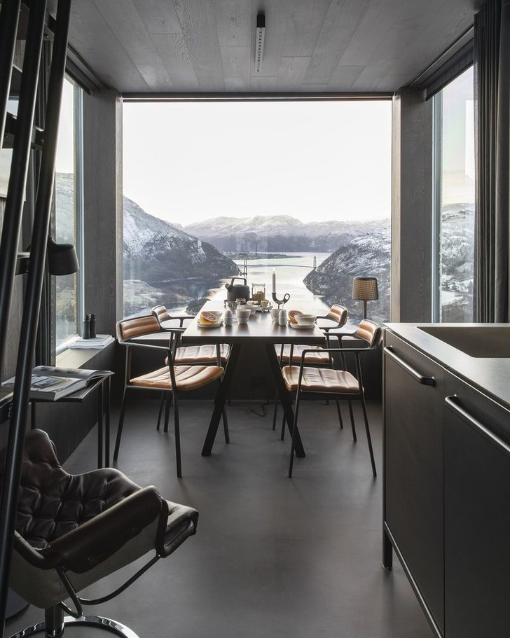 Фото №5 - Микроотель с видом на Люсе-фьорд в Норвегии