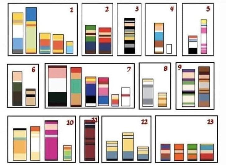 Фото №1 - 20 визуальных загадок. Угадай по форме и цвету, что изображено на картинках