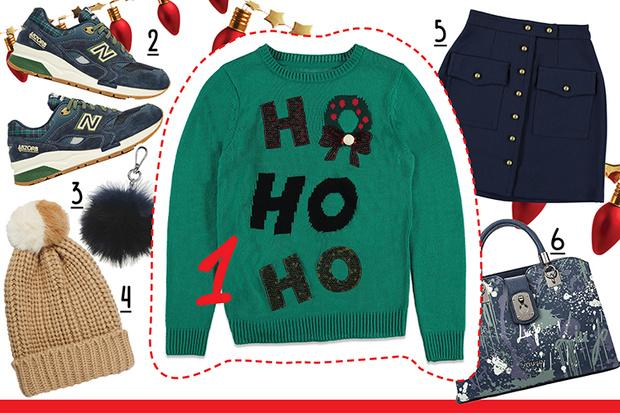 Фото №5 - С чем носить рождественский пуловер